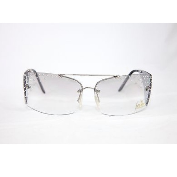 342a6edf6748 Fendi Accessories - FENDI shiny palladium glasses sunglasses Fs261 s
